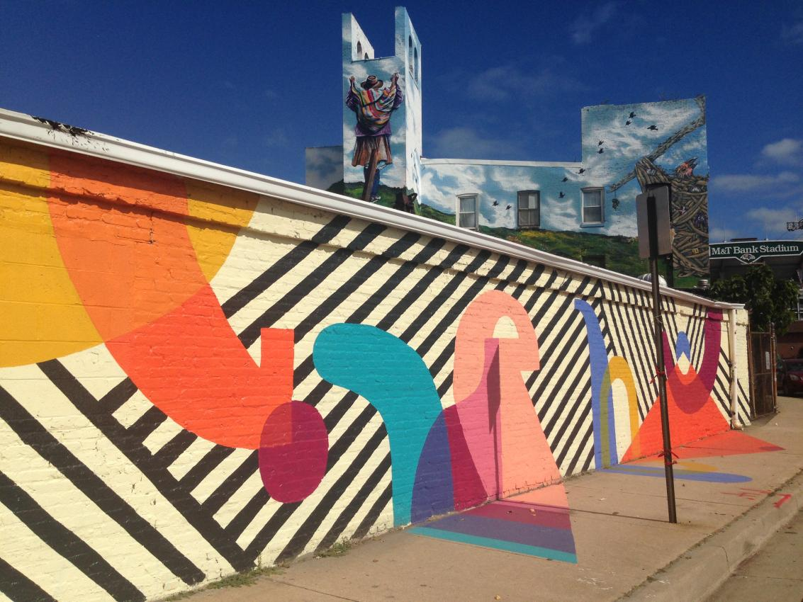Baltimore Mural Program | Arts Council | BOPA for Simple Street Painting  55nar